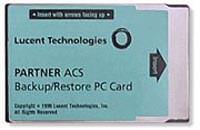 Avaya PARTNER ACS Backup/Restore Card Refurbished
