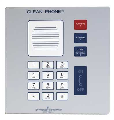 GAI-Tronics VoIP Clean Phone Flush-Mount