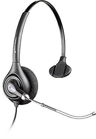Plantronics HW251 SupraPlus Wideband Monaural Headset New