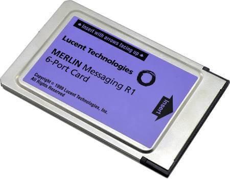 Avaya Merlin Messaging 6 Port License Card Refurbished