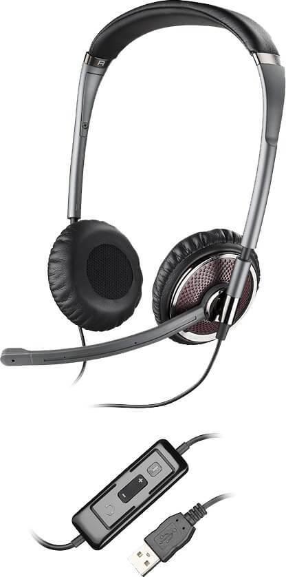 Plantronics Blackwire C420-M UC Stereo USB Headsets for Microsoft New