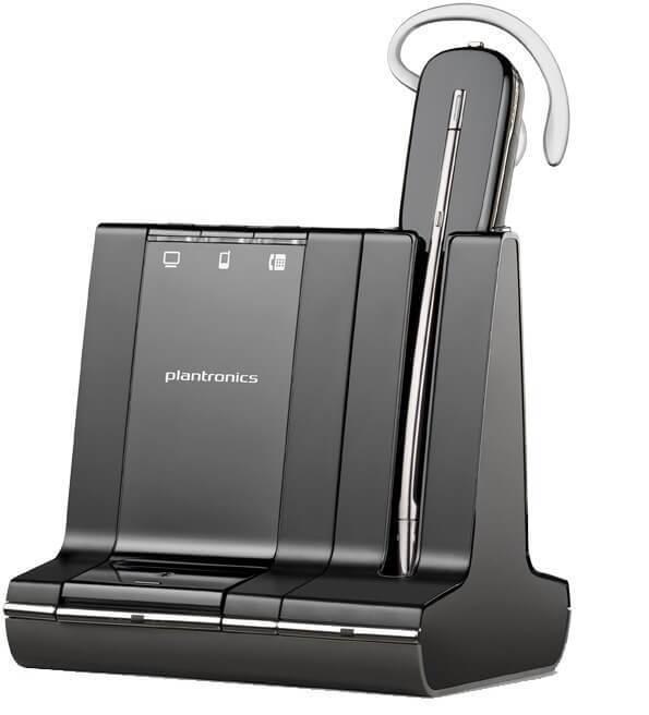 Plantronics SAVI W745 Unlimited Talk Time Wireless Headset