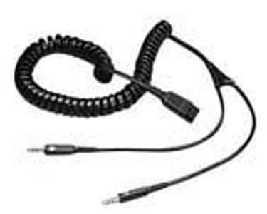 Jabra QD to Dual 3.5mm Cord New