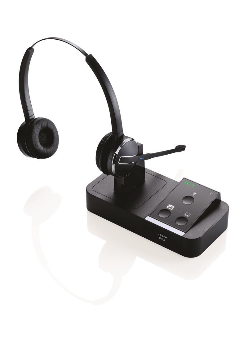 Jabra PRO 9450 DUO Flexboom DECT Wireless Headset