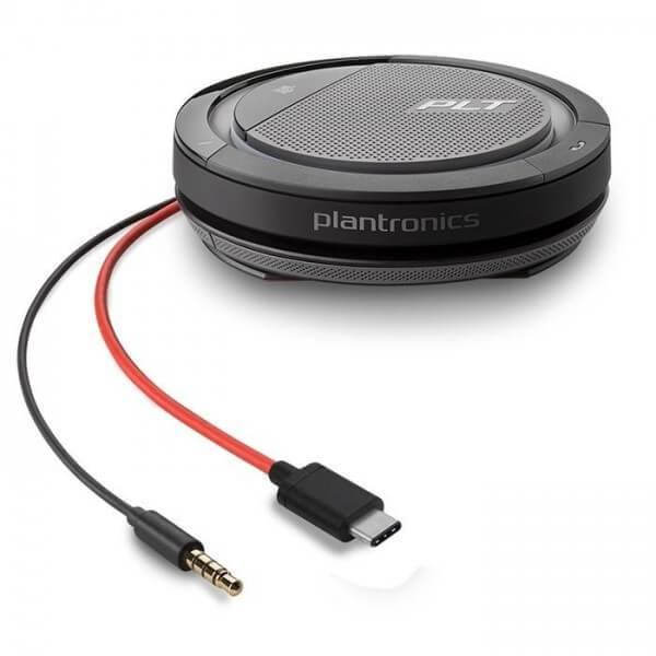 Plantronics Calisto 5200 Portable USB & 3.5mm Personal Speakerphone