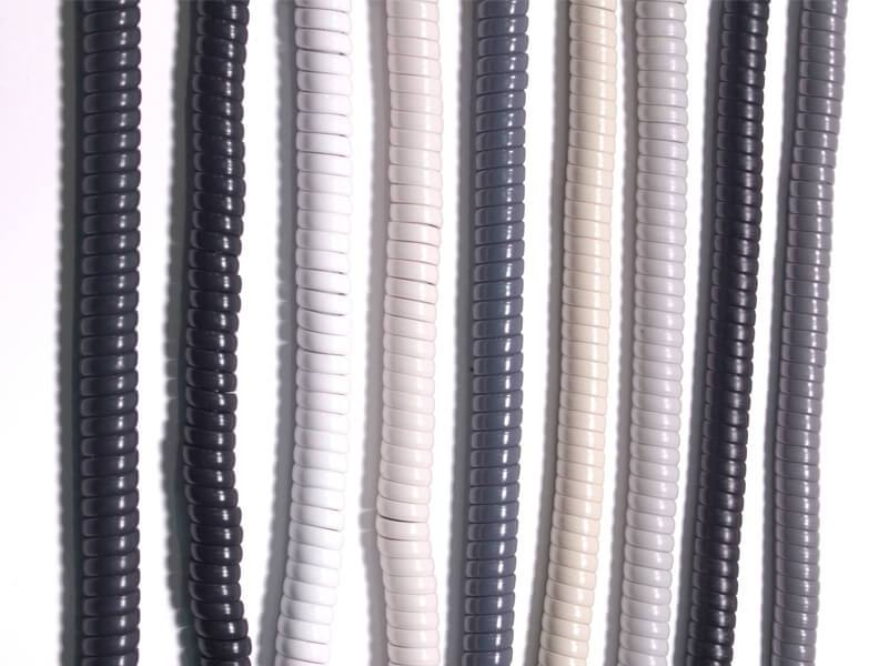 Rolm Ash Handset Cords 10 Pack New