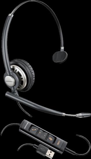 Plantronics EncorePro HW715 Monaural USB Corded Headset