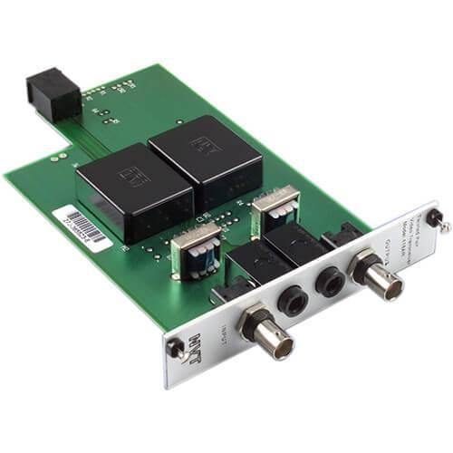 NVT Phybridge NV-418AR Rack Mount Dual Passive Video/Audio Transceiver