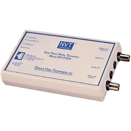NVT Phybridge NV-518A Dual Video/Audio Transceiver