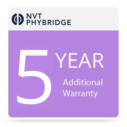 NVT Phybridge 5 Additional Years Warranty for Flex-Link Adapter