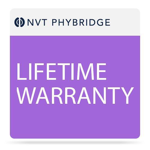 NVT Phybridge NV-FLX-024-1000-MTNC-L Lifetime Warranty for Flex 24-Port Switch with 1000 Watt Power Supply