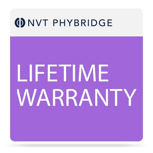 NVT Phybridge NV-PL-024-MTNC-L Lifetime Warranty for PoLRE 24 Port Switch