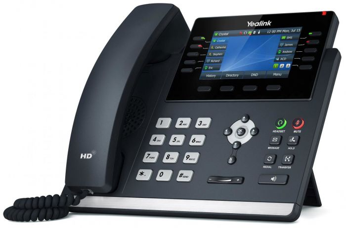Yealink SIP-T46U Executive Gigabit Color IP Phone