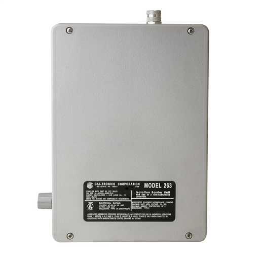 GAI-Tronics Intrinsically Safe Telephone Isolation Barrier Unit