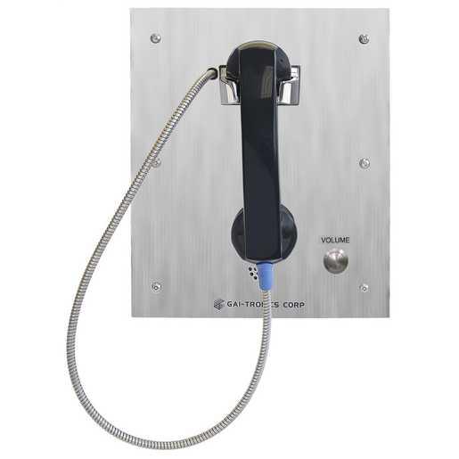 GAI-Tronics S.M.A.R.T. Flush-Panel Analog Phone w/Autodial