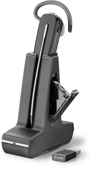 Plantronics Savi 8245 UC USB Wireless Headset with Unlimited Talk Time