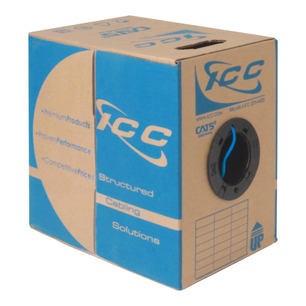 ICC CAT5e Plenum Cable in 1000' Pull Box