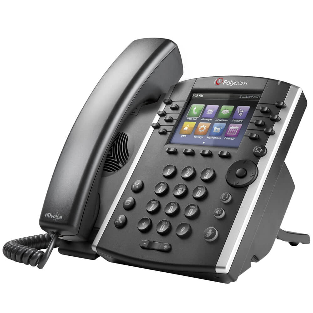 Polycom VVX 401 IP Phone New