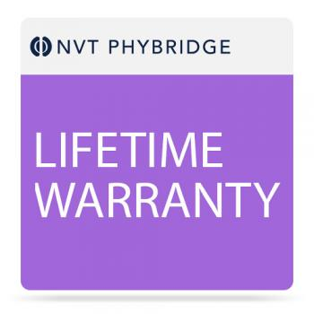 NVT Phybridge Lifetime Warranty for EC-Link+