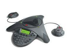 Polycom SoundStation VTX 1000 w/ Microphones New