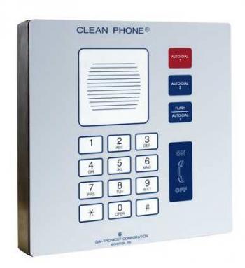 GAI-Tronics Analog Clean Phone Wall-Mount
