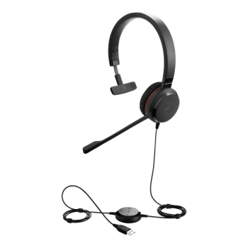 Jabra Evolve 30 II Mono USB & 3.5mm Headset