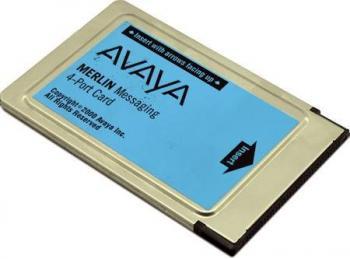 Avaya Merlin Messaging 4 Port License Card Refurbished