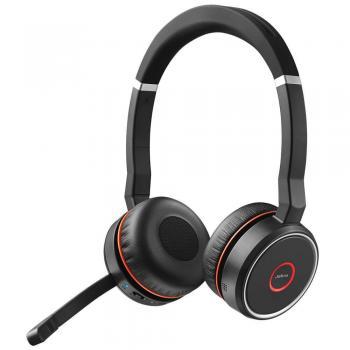 Jabra Evolve 75 Stereo MS -Optimized for Skype Wireless USB Headset
