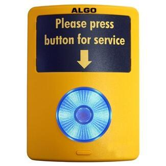 Algo 1202 Illuminated Call Push Button for Customer Assistance & Emergency Notification