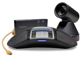 Konftel C50300Wx Hybrid Analog DECT Video Conferencing Kit