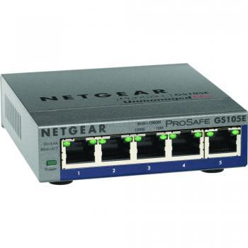 Netgear ProSafe Plus Switch 5-Port Gigabit Ethernet Switch