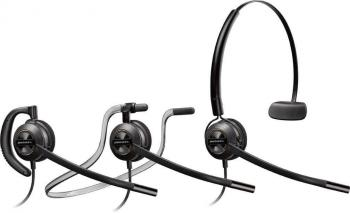 Plantronics EncorePro HW545 UC USB Convertible Monaural Corded Headset