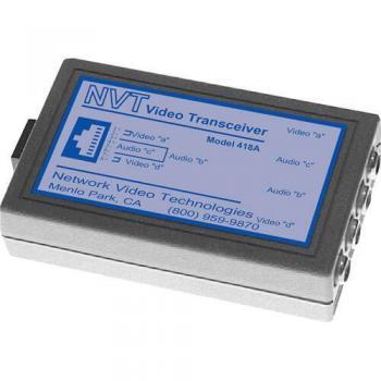NVT Phybridge NV-418A Dual Passive Video/Audio Transceiver