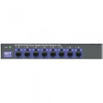 NVT Phybridge NV-8PS13-PVD Power Supply Passive Video Receiver Hub