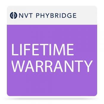 NVT Phybridge Lifetime Warranty for FLEX8