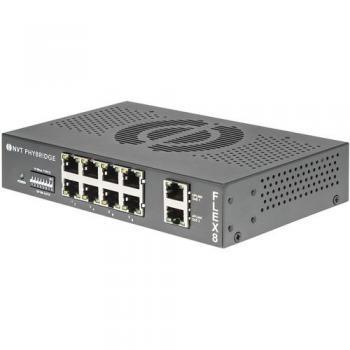 NVT Phybridge FLEX8 8-Port PoE+ Unmanaged Switch