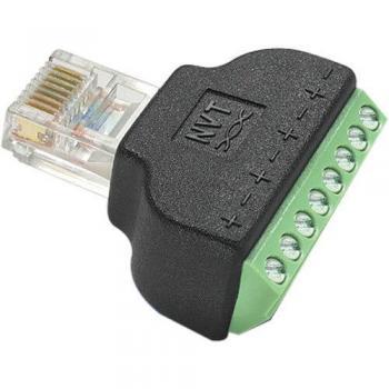 NVT Phybridge NV-RJ45A RJ45/Screw Terminal Block Adapter