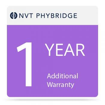 NVT Phybridge NV-FLXLK-MTNC-1 1 Year Additional Warranty for Flex-Link Adapter