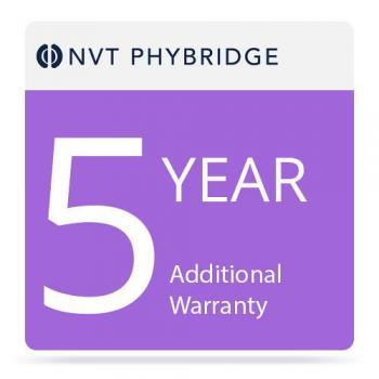 NVT Phybridge NV-PL-08-MTNC-5 5 Additional Years Warranty for Polre 8-Port Switch