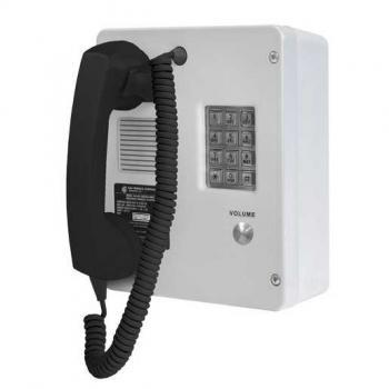GAI-Tronics Rugged Indoor Phone Analog with Keypad