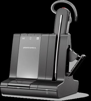 Plantronics Savi 8245 Offfice Wireless Convertible Headset with Unlimited Talk Time