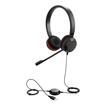 Jabra Evolve 30 II Stereo USB & 3.5mm Headset