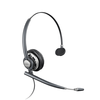 Plantronics EncorePro HW710D Monnaural UC Digital Corded Headset - USB connector sold separately
