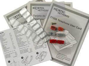 Norstar T7208 Series Lit Pack - 5 Packs