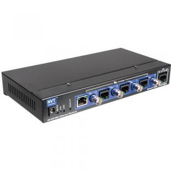 NVT Phybridge NV-ER1804 TBus 4-Port Ethernet over Coax/UTP Receiver