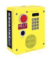 GAI-Tronics Emergency Wall-Mount Phone w/Standard Keypad Analog Model 394AL