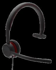 Avaya L129 Monoaural QD Headset New