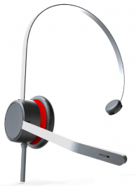 Avaya L139 Headset QD Mono New
