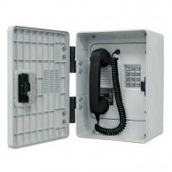 GAI-Tronics VoIP Rugged Outdoor Phone with Keypad