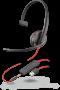 Plantronics Blackwire 3215 Corded USB & 3.5mm UC Monaural Headset